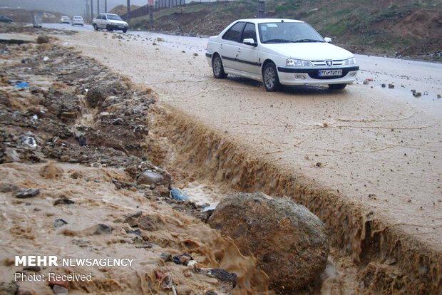سیلاب در خرم آباد