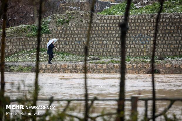 دورود در معرض بحران سیل