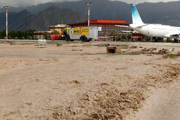"""الخسائر التي خلفتها السيول في مدينة """"خرم آباد"""""""