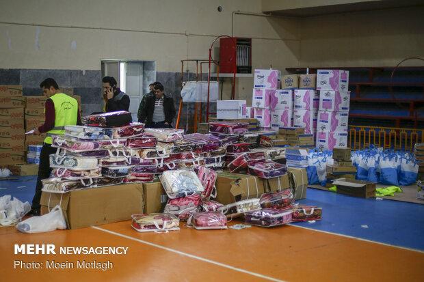 اعزام نخستین محموله کمکی اوقاف همدان به سیستان و بلوچستان