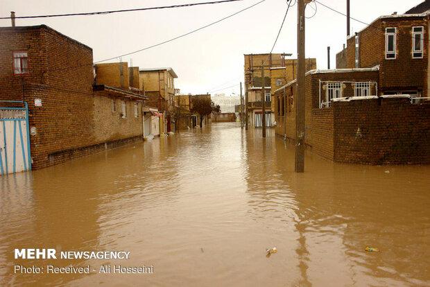 ثبت ۱۴۴.۹ میلی متر بارش باران در «نورآباد»