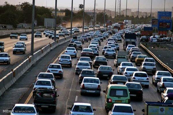 البرز با ترافیک و فرسودگی ناوگان حملونقل عمومی مواجه است
