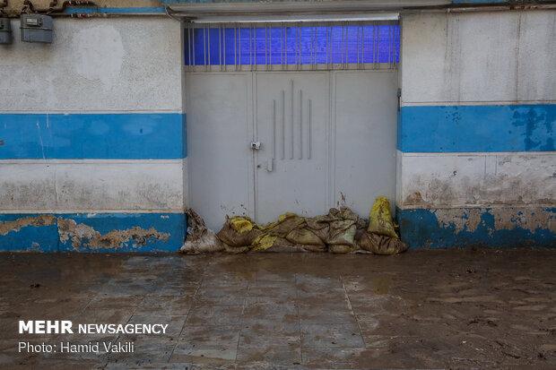 خسارات سیل در خرم آباد