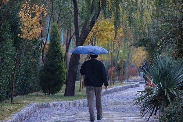 بارش باران در مناطق مختلف ایلام/ بارش ها تا فردا ادامه دارد