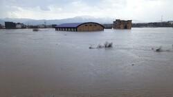 وضعیت دورود پس از سیلاب
