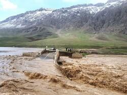 عملیات احداث پل های تخریب شده بر اثر سیل آغاز شد