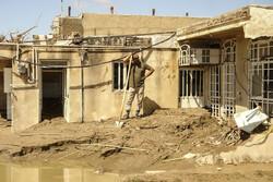 قاب سیل بر دیوار خانه های تخریب شده/ زیرآب زیر «آب»