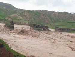 احداث پل موقت گاومیشان با سرعت در حال انجام است