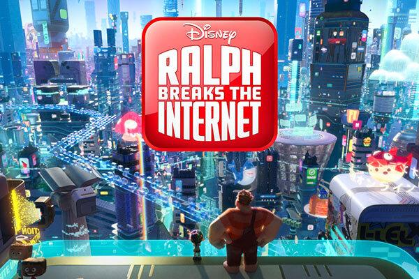 نفوذ کارتونی به دنیای اینترنت/وقتی خرابکاری «رالف» تماشایی میشود