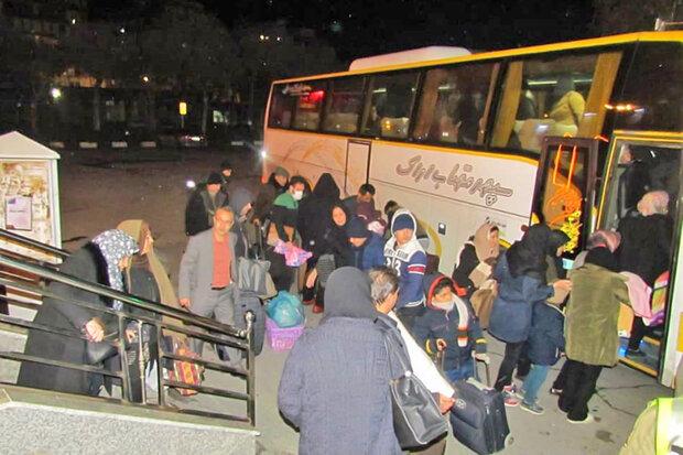 جابجایی بیش از ۸۳ هزار مسافر از پایانههای مسافربری شهرداری قزوین