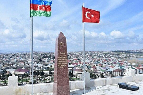 Azerbaycan'da Osmanlı şehitleri için anıt yaptırıldı