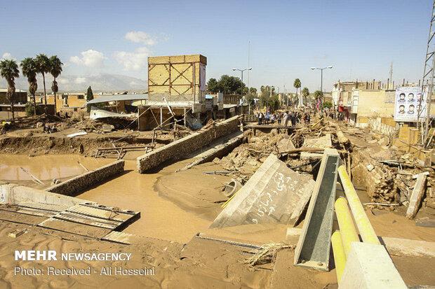 İran'daki sel felaketinden son görüntüler