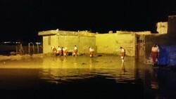 بالا آمدن رودخانه قرهسو ۱۵۰ خانوار شهرک کرناچی را دچار مشکل کرد