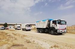 محموله اقلام امدادی استان بوشهر برای سیلزدگان لرستان ارسال شد