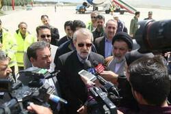 لاريجاني يصل محافظة خوزستان