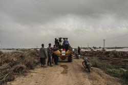 روستا «ام الحجار» شادگان با رعایت احتیاط تخلیه شد