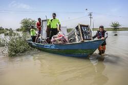 ۱۰ گروه جهادی از اندیمشک به مناطق سیلزده اعزام شدند