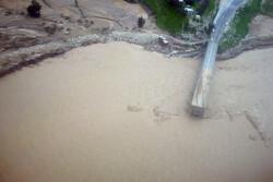 پل جدید کاکارضا در سلسله فروریخت/ کشته شدن یک نفر