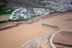 Aerial photos show scale of Pol-e Dokhtar flooding