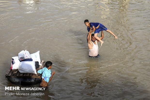 سیلاب خوزستان تبدیل به بحران اجتماعی نشد