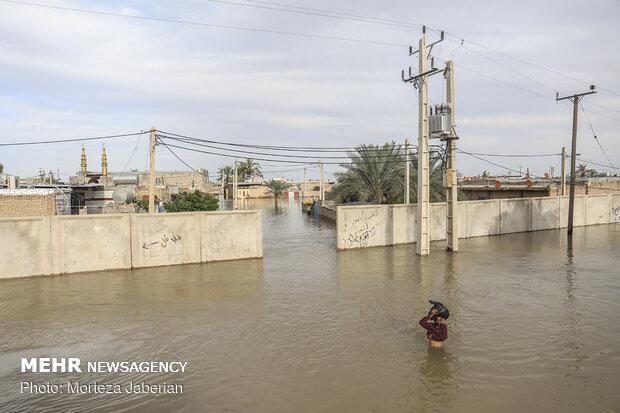 سیل به ۱۱۳ مدرسه خوزستان آسیب وارد کرد