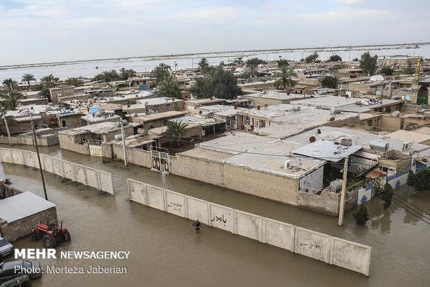 اجرای سیستم سازهای بیش از۵هزارواحدمسکونی آسیبدیده ازسیل خوزستان