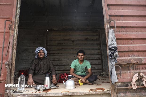 روایتی از سختیها و کاستیهای خوزستان از دریچه دوربین عکاسی