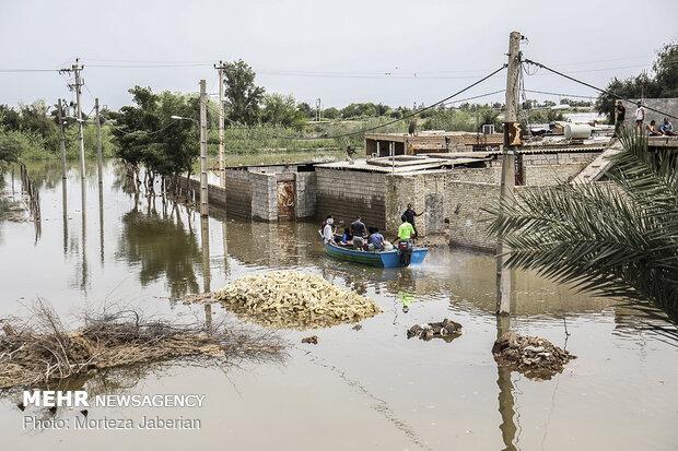بازسازی منازل مسکونی آسیب دیده در سیل خوزستان آغاز شد