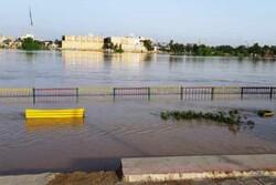 آب کارون وارد پارک ساحلی بایندر در منطقه کوت شیخ خرمشهر شد