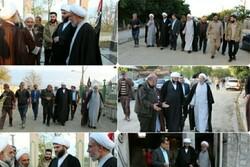 بازدید رئیس سازمان تبلیغات اسلامی از مناطق سیل زده مازندران