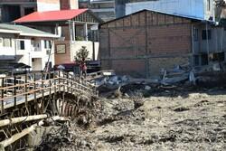 ۵۰۰ ساختمان حریم و بستر رودخانه در سوادکوه در معرض تهدید است