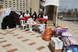 ۴۶ پایگاه هلال احمر قزوین برای جمع آوری کمک مردمی برپا شده است
