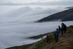 Take a trip to a sea of clouds at Heyran Pass in Astara