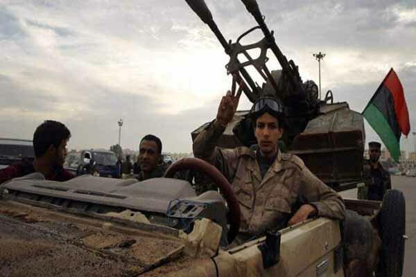 لیبیا کی فوج کا لیبیا کے مغرب میں واقع غریان شہر پر قبضہ