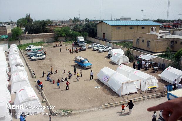 نمایندگان جمعیت هلال احمر قطر به خوزستان سفر کردند