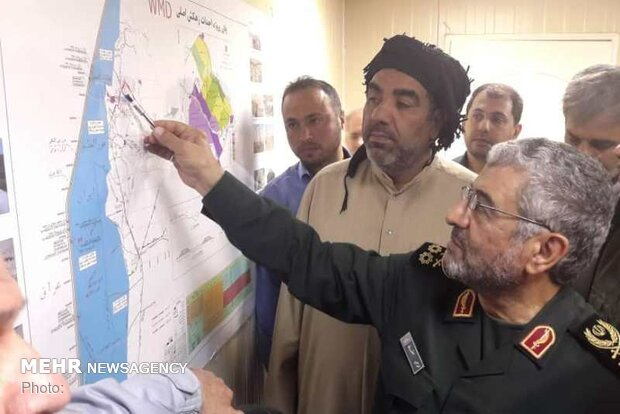IRGC using all capacities to prevent further flood damages