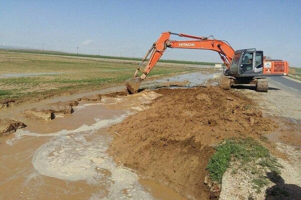 ۱۳۰ کیلومتر از طول رودخانههای استان همدان لایروبی شد
