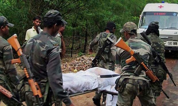 بھارت کی ریاست چھتیس گڑھ میں 4 فوجی اہلکار ہلاک