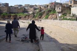 آغاز پروژه احداث دیوار ساحلی پل «افلاک» تا پل «حاجی» خرمآباد