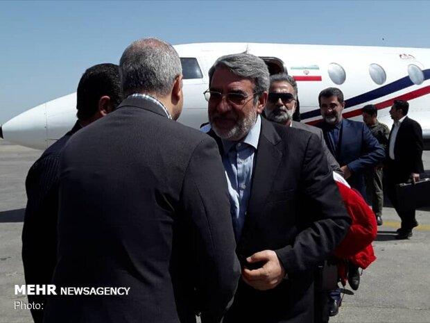 ایران وقرغيزيا توقعان اتفاقا للتعاون في مجال الامن والشرطة