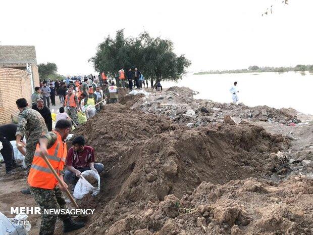 دستور تخلیه ۱۴ روستای حاشیه کرخه و دز بخش مرکزی اهواز صادر شد