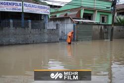 بارش  شدید باران بولیوی را هم گرفتار کرد