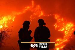 آتشسوزی گسترده در کرهجنوبی