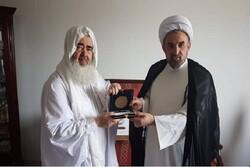 دیدار رهبر جامعه اباضیه شمال آفریقا و تـونس با رئیس دانشگاه مذاهب