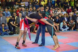 مسابقات کشتی با شال استان گلستان