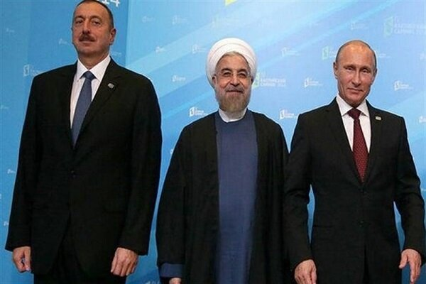Iranian, Russian, Azeri presidents likely to hold trilateral meeting in Aug.