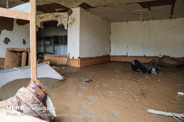 افتتاح نخستین واحد مسکونی ساخته شده برای مددجویان سیل زده «ماژین»