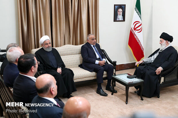 Ayatollah Khamenei receives Iraqi PM for a meeting
