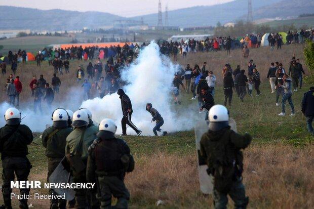 ضرب و شتم مهاجران توسط پلیس یونان ادامه دارد