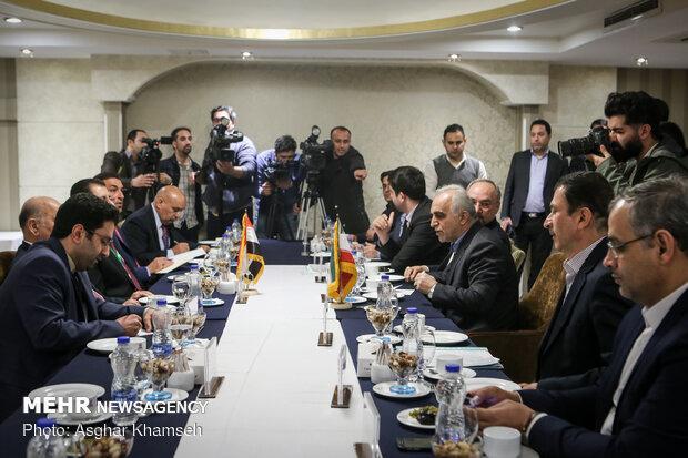 Iran, Iraq finance ministers' meeting in Tehran